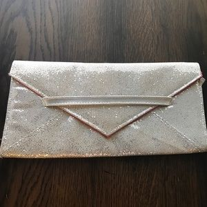 Sparkly Glitter Clutch by VS